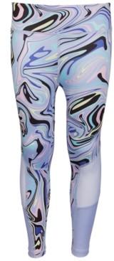Ideology Big Girls Vortex Printed Leggings, Created for Macy's