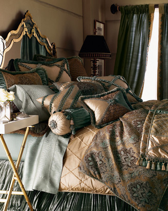 Dian Austin Couture Home King Villa di Como Lattice Duvet Cover