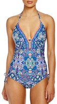 Laundry by Shelli Segal Pretty Partridge Tankini Top
