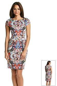 T Tahari Skyler Print Dress