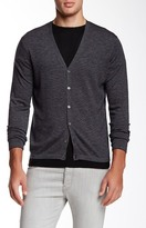 Zachary Prell Blackfriars Long Sleeve Wool Blend Sweater