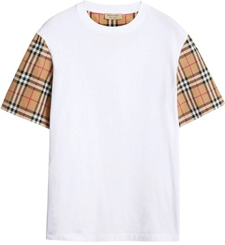 Burberry Icon Check Sleeve T-shirt