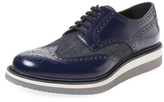 Prada Leather Wingtip Derby