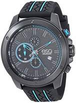 ESQ Men's Chronograph Watch w/ and Blue Silicone Strap FE/0132