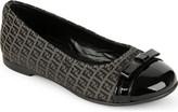 Fendi Logo ballerina shoes