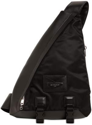 Givenchy Logo Leather Shoulder Bag