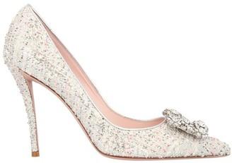 Roger Vivier Flower Strass heels