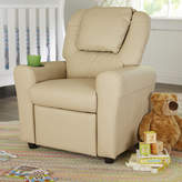 Flash Furniture Contemporary Personalized Kids Recliner with Cup Holder