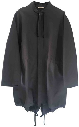 Celine Grey Cotton Coat for Women