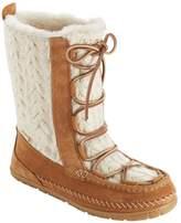 L.L. Bean L.L.Bean Women's Wicked Good Lodge Boots, Knit