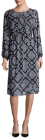 Plenty by Tracy Reese Romantic Printed Midi Dress
