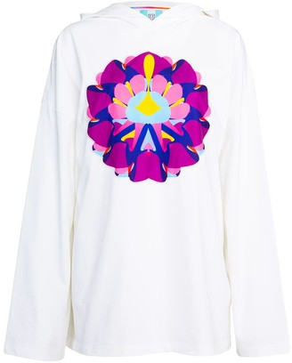 Ace Nayman Print Embroidered Lightweight Hoodie