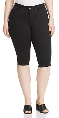Slink Jeans Plus Slim Bermuda Shorts