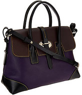 Dooney & Bourke As Is Verona Leather Elisa Satchel