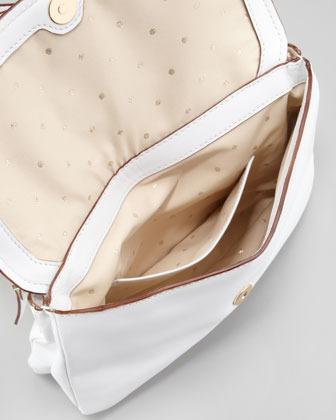 Kate Spade Terrace Justine Bow Crossbody Bag, White