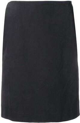 Gianfranco Ferré Pre Owned 1990's Straight Slit Skirt