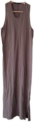 Bassike Brown Cotton Dress for Women