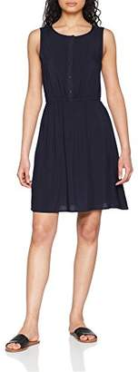 Vero Moda Women's Vmboca S/l Short Dress Noos Blue Navy Blazer, 8 (Size: X-Small)