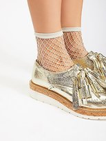 Look From London Sugar Sugar Fishnet Anklet by at Free People