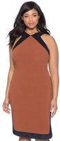 ELOQUII Plus Size Textured Knit Dress
