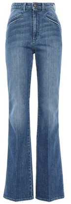 Philosophy di Lorenzo Serafini Faded High-rise Flared Jeans