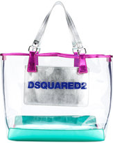 DSQUARED2 transparent tote - women - PVC - One Size