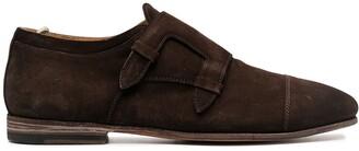 Officine Creative Buckle-Detail Monk Shoes