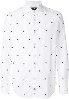 Hydrogen skull printed shirt