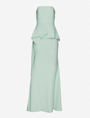 Roland Mouret Adrienne wool maxi dress