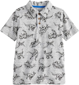 Sonoma Goods For Life Boys 4-12 SONOMA Goods for Life Dinosaur Polo