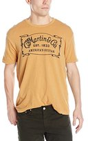 Lucky Brand Men's Martin and Co. Border Graphic T-Shirt