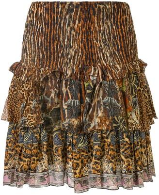 Camilla Wild Azal frill skirt