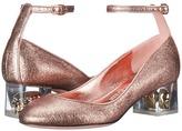 Alexander McQueen Scarpa Pelle S.Cuoio High Heels