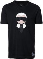 Fendi 'Karl Loves Fendi' T-shirt - men - Cotton - 46