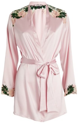 Gilda and Pearl Silk-Rich Chelsea Garden Robe