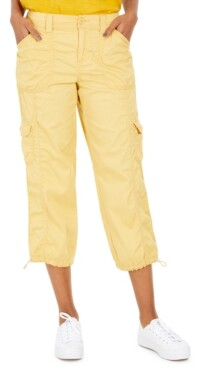 Style&Co. Style & Co Curvy-Fit Cargo Capri Pants, Created for Macy's