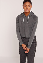 Missguided Sarah Ashcroft Washed Hoodie Grey