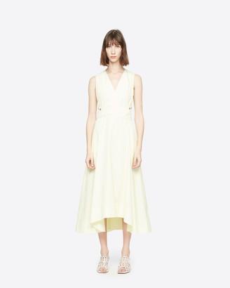 3.1 Phillip Lim sleeveless V-neck poplin dress