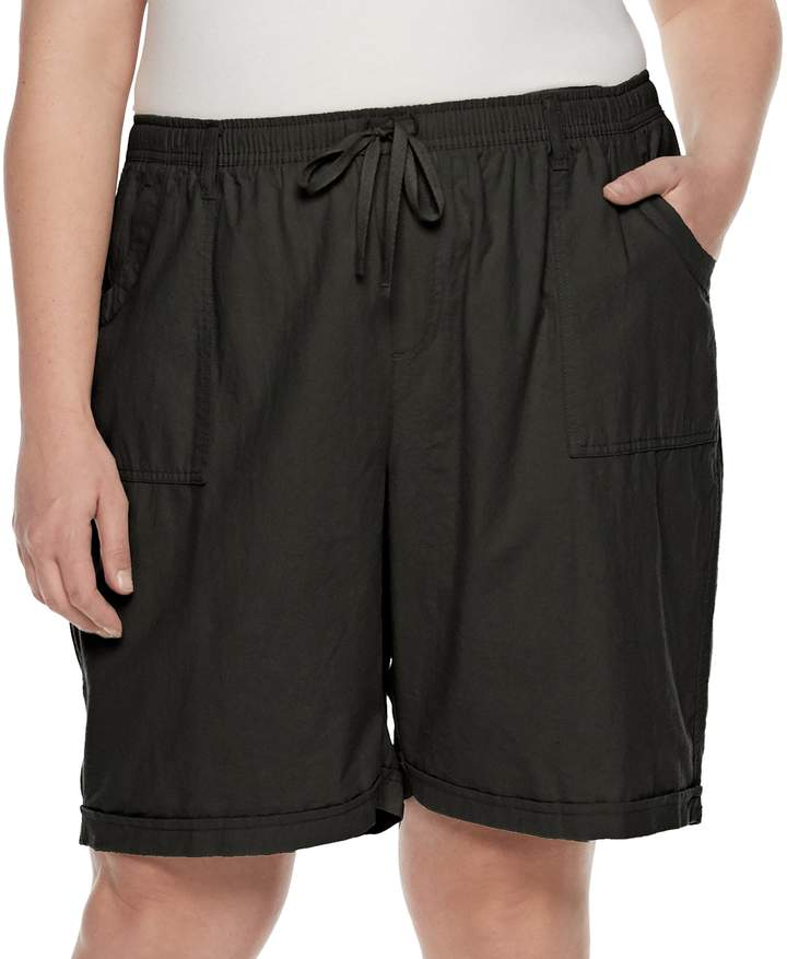 Plus Size Riley Pull-On Shorts