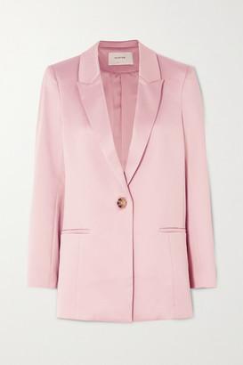 MUNTHE Enja Satin Blazer - Pastel pink