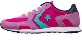 Converse Womens Thunderbolt Ox Trainers Magenta/Cyan/White