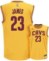 adidas Men's Cleveland Cavaliers LeBron James NBA Replica Jersey