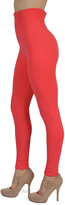 Coral Fleece-Lined Leggings