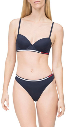 Tommy Hilfiger Colour-Blocked Waistband Thong