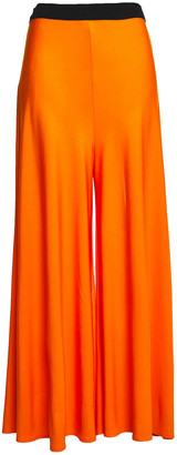 By Malene Birger Crepe-jersey Wide-leg Pants