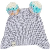UGG Multicolor 2 Pom Knit Hat (Toddler/Little Kids)