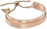 GUESS Double Bangle Slider Close Bracelet Bracelet