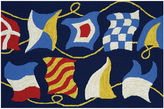 Couristan Regatta Hooked Rectangular Rugs