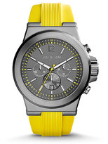 Michael Kors Dylan Gunmetal Silicone Watch