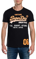 Superdry Shirt Shop Fade Tee